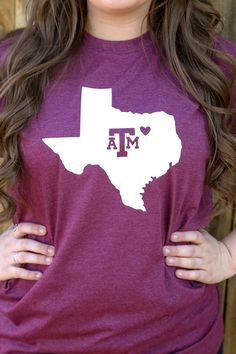 Texas A&M Shirt       Etsy listing at https://www.etsy.com/listing/265214983/i-love-texas-am-aggies-shirt