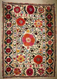 Uzbek suzani 112 x 82cm
