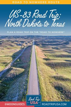 Plan your cross-country road trip from North Dakota to Texas on US-83, AKA The Road to Nowhere. Get recommendations for the top things to see and do on your trip, plus helpful travel maps and local history. Travel Maps, Travel Usa, North Platte, Rio Grande Valley, Cross Country Trip, Country Roads, South Padre Island, Local History, Road Trip Usa