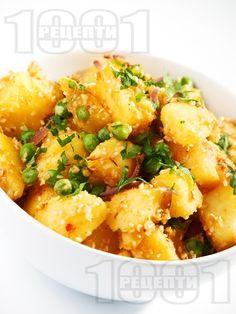 Рецепта за Картофи с грах и сусам