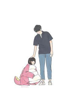 Giang Thần X Tiểu Hy Funnel Cake funnel cake grocery store Cute Couple Drawings, Cute Couple Art, Anime Love Couple, Couple Cartoon, Love Drawings, Beautiful Drawings, Cute Anime Couples, A Love So Beautiful, Cute Love