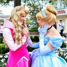 Aurora and Cinderella