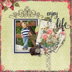 Page by Atusia using Rosewood - GS May Monthly Mix and Hope template by Miss Mel