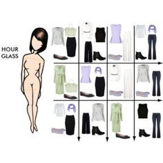 15 Item Capsule Wardrobe for an Hourglass Shape