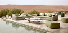 With summer just around the corner, it's time for a fabulous reshape of your outdoor decoration according to new and fresh interior design trends. Here are luxury brands that offer some of the most staggering outdoor furniture.  #outdoordecoration #interiordesign #outdoordesign #2019interiordesigntrends #interiordesigntrends #brabbu