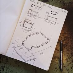 Sketching a custom designed light which goes above a bar in an office. Normal :-) by albertconceptsberlin Sketch Drawing, Sketching, Interior Architecture, Interior Design, Competitor Analysis, Design Consultant, Berlin, Custom Design, Concept