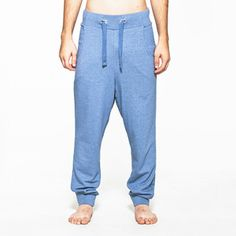 Slacker Pants Blue, $65, now featured on Fab.
