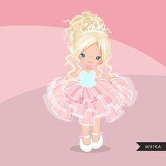 Pink Tutu clipart. Cute ballerina graphics ballet party