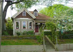 Atlanta, GA Grant Park North Historic District Victorian Cottage by army.arch, via Flickr