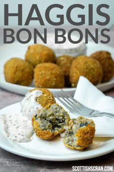 How to Make Haggis Bon Bons   Haggis Balls Recipe   Haggis Recipes   Scottish Recipes  Scotland Recipes  Authentic Scottish Recipes   Whisky Dipping Sauce Burns Night Recipes, Haggis Recipe, Burns Supper, Scottish Recipes, Balls Recipe, Food Festival, Savoury Dishes, Soul Food, Whisky