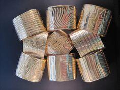 Cool Cuffs II | Warren and Robin Moell - sterling silver