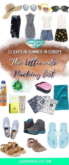 Heading off for a trip backpacking around Europe? Why not see what I brought on mine and whether I regret bring them!