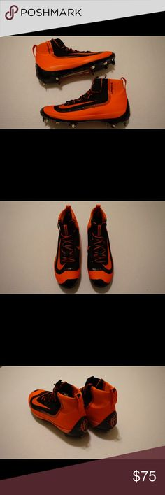 Nike Huarache 2K Filth Elite Mid Baseball Cleats New/Deadstock No Box 100% Authentic Nike Shoes Athletic Shoes