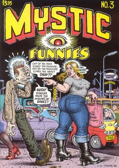Mystic Funnies 3 by #Robert_Crumb #underground_comics