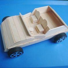 包邮雪糕棒木条diy手工房子材料制作小汽车飞机 废物利用环保材料-淘宝网
