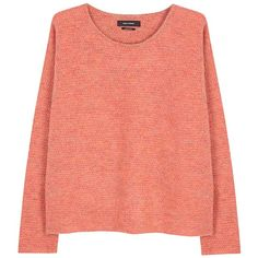 Isabel Marant Devon terracotta knitted jumper (€380) ❤ liked on Polyvore featuring tops, sweaters, red sweater, jumpers sweaters, isabel marant top, isabel marant sweaters and isabel marant
