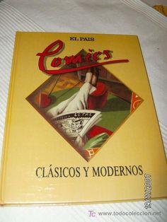 Libro de fascículos Comics Clásicos y Modernos -El País-