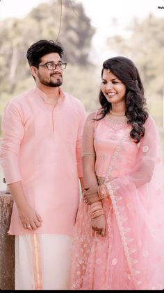 Engagement Dress For Groom, Kerala Engagement Dress, Engagement Gowns, Couple Wedding Dress, Tea Length Wedding Dress, Christian Bridal Saree, Christian Bride, Bride Reception Dresses, Marriage Reception