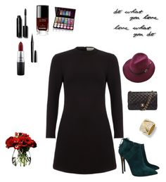 """""""Untitled #7"""" by aleksandra920 on Polyvore featuring Casadei, Chanel, Être Cécile, MAC Cosmetics, Bobbi Brown Cosmetics, Marc Jacobs, Shany, Marina B, Umbra and LSA International"""