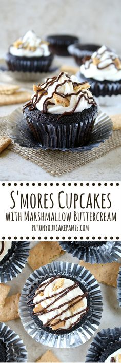 Crushed graham cracker crumbs replace most of the flour in these chocolate cupcakes, giving them a fragrant, honeyed flavor. Kids and adults alike will love them!