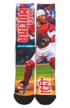 FBF ORIGINALS 'St. Louis Cardinals - Yadier Molina' Socks available at #Nordstrom
