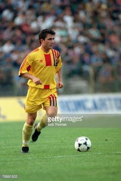 circa Gheorghe Hagi, Romania Get premium, high resolution news photos at Getty Images Football Kits, Football Cards, Football Players, All Star, Classic Football Shirts, Everton Fc, Garra, Blues, Soccer
