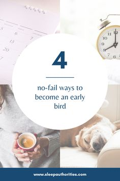 Waking up early is not always easy, but Sleep Authorities has four tips to help you become an early bird. Boss Babe Quotes, How To Wake Up Early, Early Bird, Morning Routines, Disorders, Tips, Sleep, Posts, Group