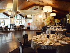 Fairway Dining Room Via EventSourceca Wedding At Weston Golf And Country Club