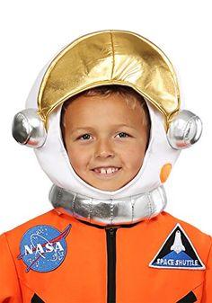 Prepare your child to launch into their space adventures with this plush astronaut helmet. Cool Costumes, Adult Costumes, Children Costumes, Astronaut Helmet, Kids Helmets, Aliens Movie, Halloween Accessories, Kids Branding, Kid Spaces