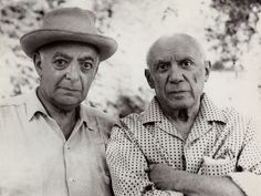 Brassaï, autoritratto con Pablo Picasso