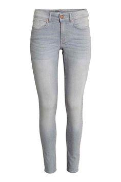 Super Skinny Regular Jeans - Gris - MUJER   H&M ES