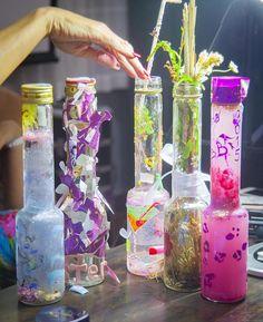 BrillBird Voss Bottle, Water Bottle, Glass Vase, Nail, Home Decor, Decoration Home, Room Decor, Water Bottles, Nails