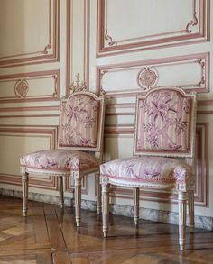 french louis chairs from Versailles Swedish Decor, French Decor, French Country Decorating, Sofa Chair, Armchair, French Chairs, Take A Seat, Marie Antoinette, French Antiques