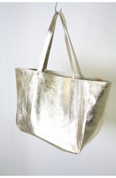 Shopper Gold, one off, 100% handmade in the Netherlands, www.bruijs.com