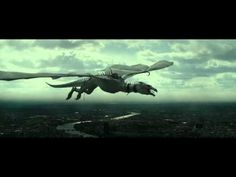 Harry Potter and the Deathly Hallows - Part 2 (Dragon Flight Scene - HD)
