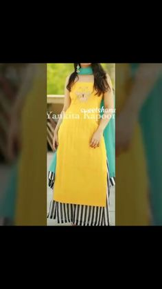 Punjabi Suit Neck Designs, Kurti Neck Designs, Blouse Designs, Punjabi Suits Designer Boutique, Indian Designer Outfits, Indian Outfits, Dress Clothes For Women, Desi Clothes, Casual Work Outfits