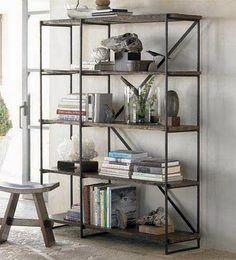 a case of the mundays: mon-DIY: iron pipe bookshelves