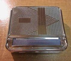 Kingstar Silver Metal Engravable King Size Cigarette Roller Machine