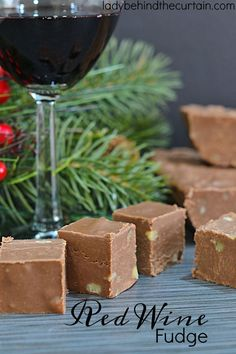 Red Wine Fudge | Add extra flavor to your fudge with wine!