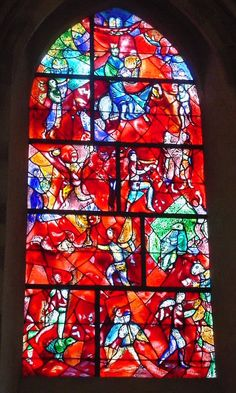 Marc Chagall - Stained Glass Window