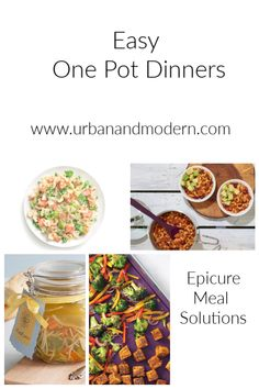 Epicure one pot dinners Rock Crock Recipes, Slow Cooker Recipes, Cooking Recipes, Soup Recipes, Ww Recipes, Cooking Ideas, Healthy Recipes, One Pot Dinners, Easy One Pot Meals