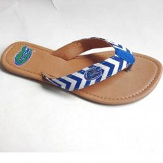 Florida Gators Chevron Sandals at The Gator Shop