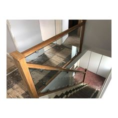 Another beautiful toughened glass staircase! Drop us a message for a bespoke quote. Glass Supplies, Bespoke, Stairs, Shelves, Quote, Drop, Beautiful, Home Decor, Ladders