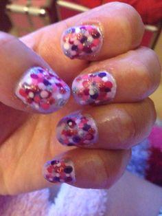 Dotty nail art