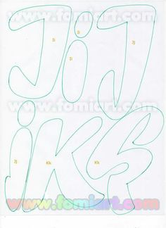 Alphabet Art, Monogram Alphabet, Alphabet Fonts, Felt Name, Beautiful Notes, Types Of Lettering, Letter A Crafts, Letter Templates, Letters And Numbers