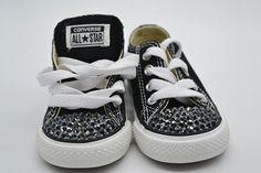 Παιδικά-Converse All-Star 204 Converse All Star, Stones And Crystals, Baby Shoes, Stars, Clothes, Fashion, Outfit, Moda, Fashion Styles