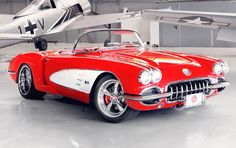 1959 Chevrolet cars | 1959 Chevy Corvette by Pogea Racing