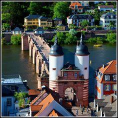 Old Bridge, Heidelberg, Germany