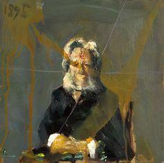 Håkon Gullvåg - Portrait projects Fine Art, Contemporary, Drawings, Artist, Projects, Aesthetics, Portraits, Painting, Pintura