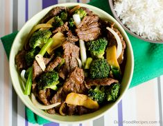 One of my loved Chinese Stir fries & the best way to enjoy beef with crunchy broccolis. Even though its native to southern china this dish been adopted in may south asian countries with thier own local touch. This is very populay in Malayasia, Thailand, Thaiwan, Hong Kong & The Philippines.
